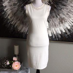 Bar III | Lace Pencil Dress | L